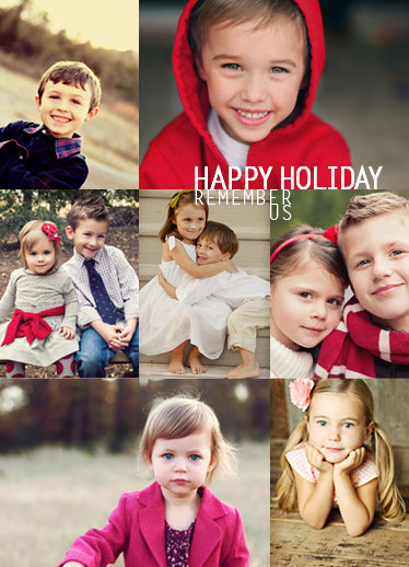 holiday photo cards - RememberUS by Bao Do