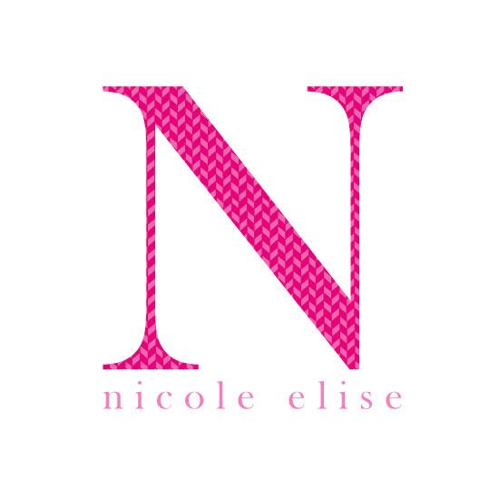 art prints - Herringbone Initial & Name by Nicole C