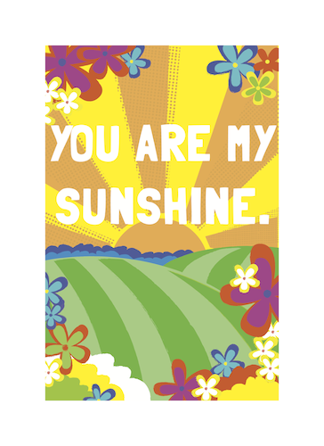 art prints - You Are My Sunshine by Samantha Kachel