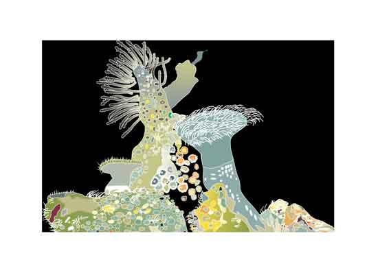 art prints - Beneath the Sea by Pat Jennings