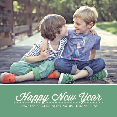 new year's cards - retro dots by k e n s i e k a t e