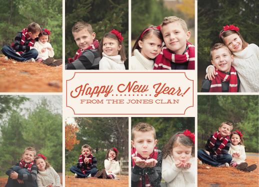 new year's cards - label by k e n s i e k a t e