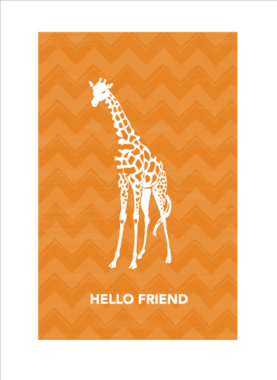 art prints - Hello Friend by Patina Creative
