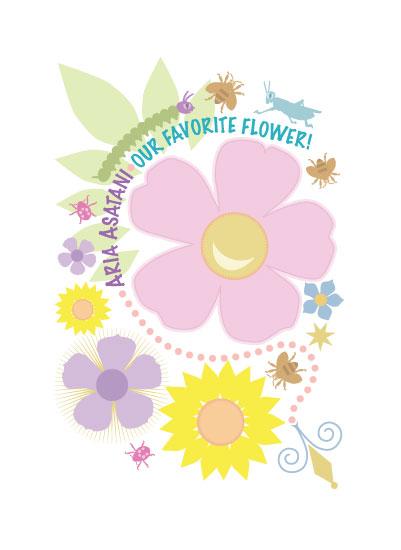 art prints - Favorite Flower by TeeEm