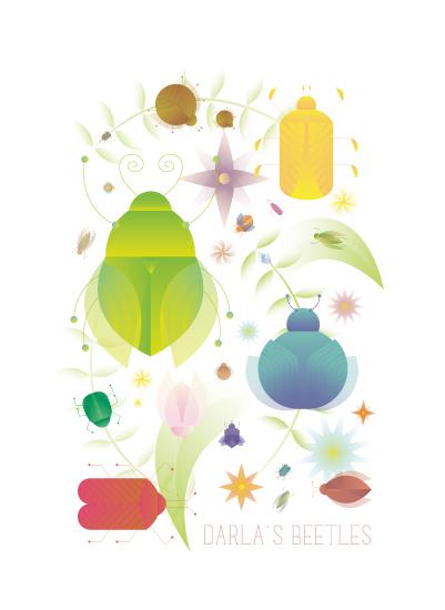 art prints - Beetle Bright by Morgan Ramberg