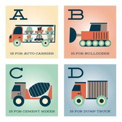 Trucker Alphabet