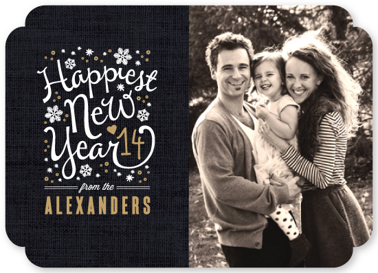 new year's cards - Happiest Year by Kristie Kern