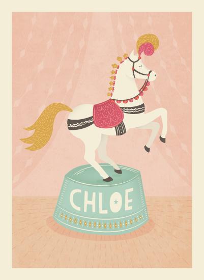art prints - Circus Pony by Jody Wody
