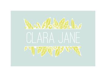 Floral Leaf Name