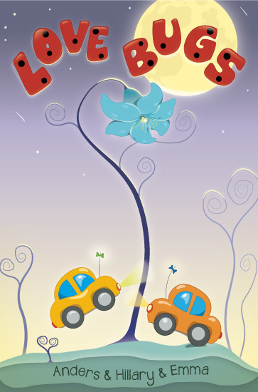 art prints - Love Bugs by An-Lon Chen