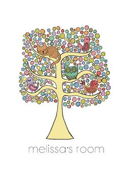 Dotty Menagerie Tree
