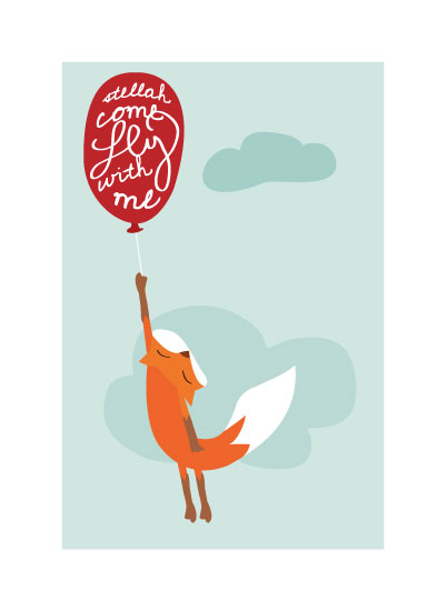 art prints - Come Fly With Me by Little Miss Missy