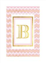 Gold Leaf Chevron by Patina Creative