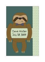 Sloth Baby Boy by Dana Jennings