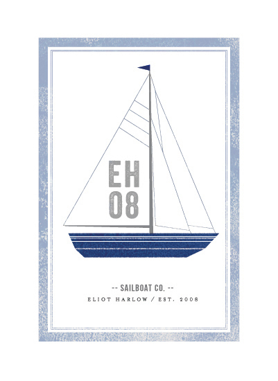 art prints - Sailboat co. by cambria