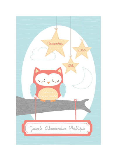 art prints - Starlight Sleeper by maudie and ma