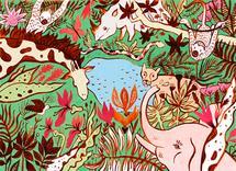 Jungle by Veronika Seleznova