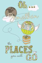 Oh The Places You Will... by Lilly Chern