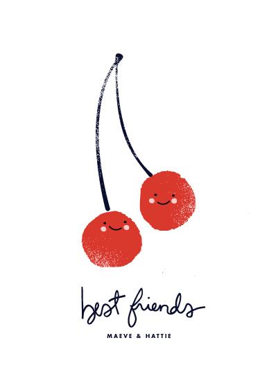 art prints - Best Friends by Oscar & Emma