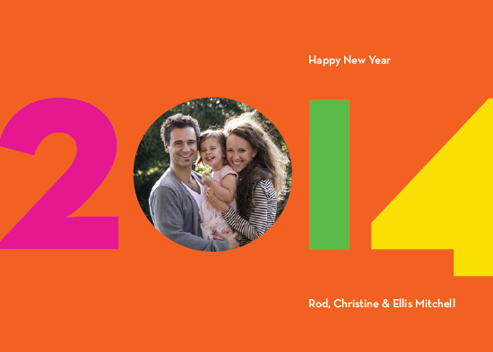 new year's cards - Neon New Year by Robin L. Andrews