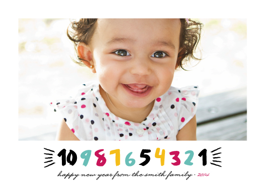 new year's cards - Baby's Countdown by Loree Mayer