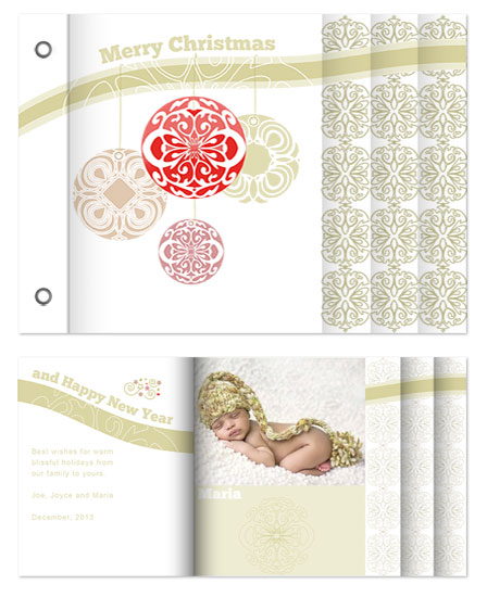 minibook cards - Tracery by MK Colling