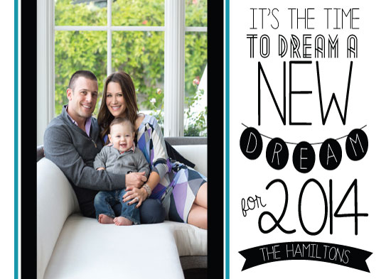 new year's cards - Dream a New Dream by Megan Coston