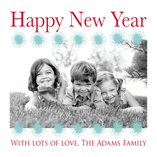 new year's cards - Sparkling Smiles by Katherine Reynaud