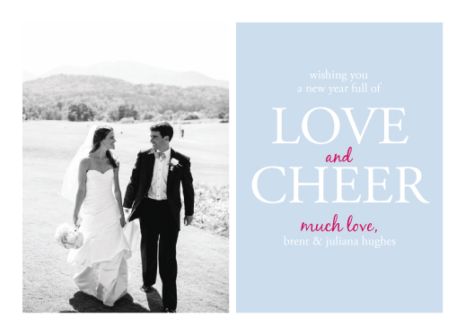 new year's cards - Love and Cheer by Eli Ko