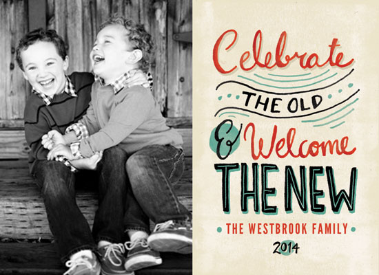 new year's cards - Old and New by Pistols