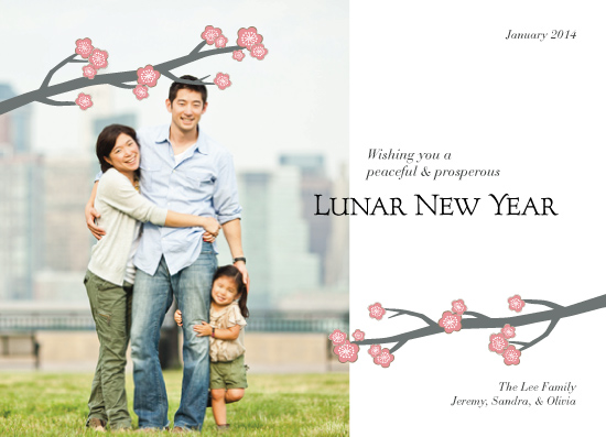 new year's cards - Lunar Blossoms by Diana Sonne