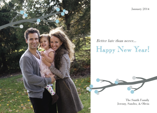 new year's cards - Better Late than Never by Diana Sonne