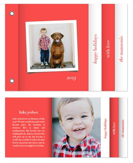 minibook cards - Modern Cheer by Paper Dahlia