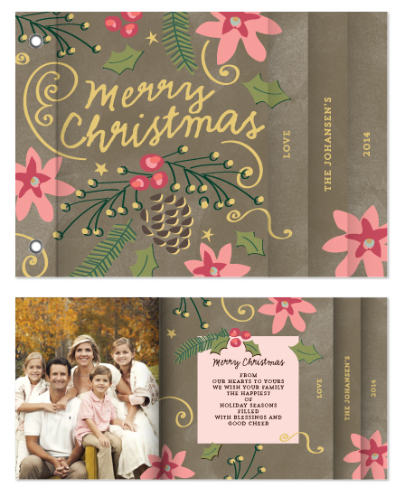 minibook cards - Christmas Bells are Ringing by Chris Griffith