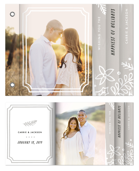 minibook cards - Merry & Married Floral by Amber Barkley