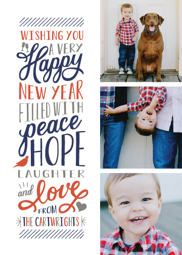 new year's cards - Elated by Sarah Guse Brown