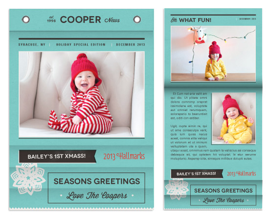 minibook cards - Holiday Special Edition by Melanie Pavao