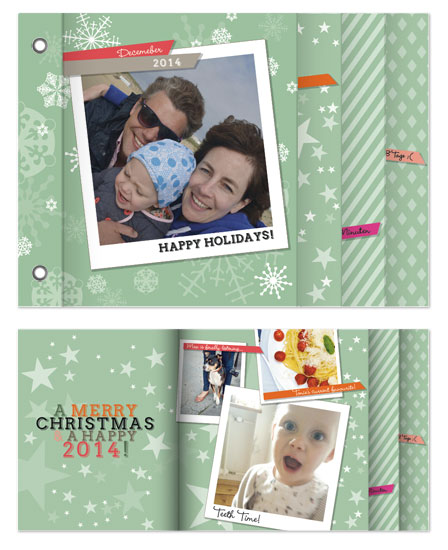 minibook cards - Merry Snapshot Jumble by mimicks