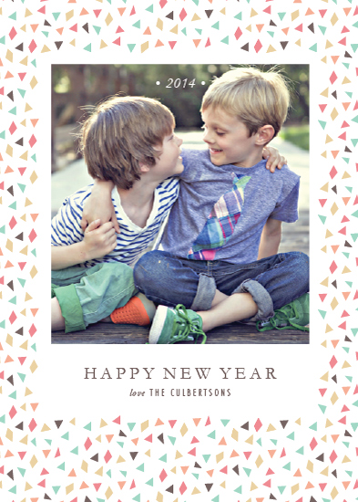 new year's cards - Confetti New Year by Sarah Curry