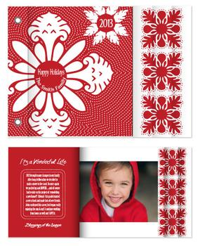 Quilted Holiday Minibook