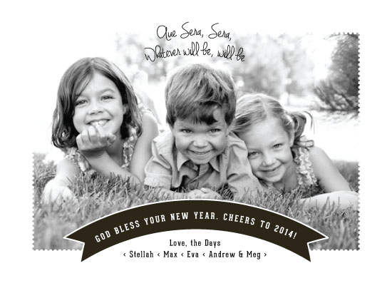 new year's cards - Que Sera Sera by Little Miss Missy