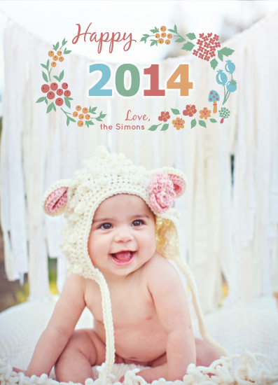new year's cards - New Year Blossoms by Duha
