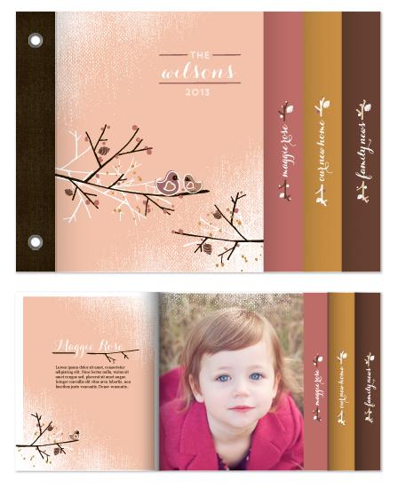 minibook cards - A Little Birdie Told Us by Gretchen Cobaugh