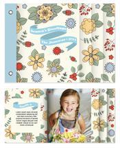 Folk Flowers by Penelope Strange