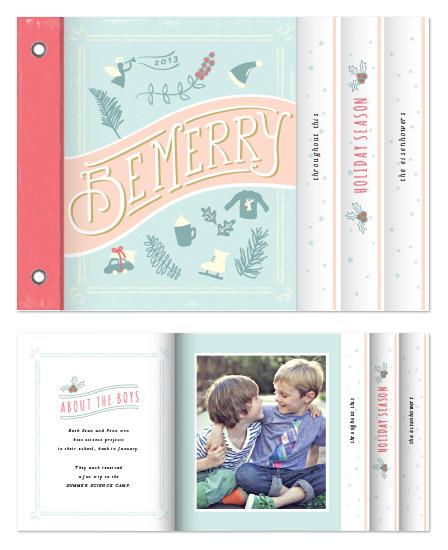 minibook cards - cotton candy by chocomocacino