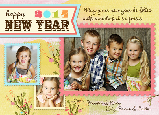 new year's cards - Whimsy New Year's Wish by Lilly Chern