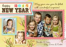 Whimsy New Year's Wish by Lilly Chern