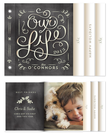 minibook cards - Our Family Album by Lori Wemple
