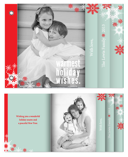 minibook cards - Warm Wishes by Stacey Montgomery