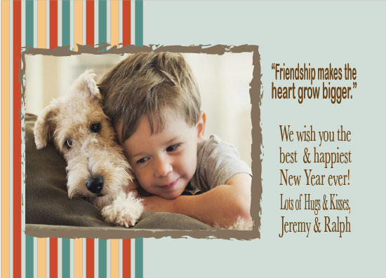 new year's cards - Bestfriends by Katherine Reynaud